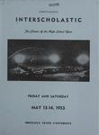 Interscholastic Meet Announcement, 1955 by Montana State University (Missoula, Mont.). Interscholastic Committee