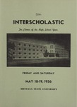 Interscholastic Meet Announcement, 1956