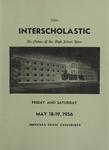 Interscholastic Meet Announcement, 1956 by Montana State University (Missoula, Mont.). Interscholastic Committee
