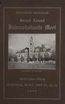 Interscholastic Meet Program, 1905 by University of Montana (Missoula, Mont.: 1893-1913). Interscholastic Committee