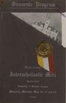 Interscholastic Meet Program, 1906 by University of Montana (Missoula, Mont.: 1893-1913). Interscholastic Committee