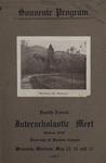 Interscholastic Meet Program, 1907 by University of Montana (Missoula, Mont.: 1893-1913). Interscholastic Committee