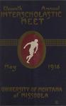 Interscholastic Meet Program, 1914
