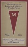 Interscholastic Meet Program, 1915 by State University of Montana (Missoula, Mont.). Interscholastic Committee