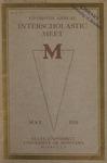 Interscholastic Meet Program, 1918 by State University of Montana (Missoula, Mont.). Interscholastic Committee