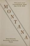 Interscholastic Meet Program, 1935 by State University of Montana (Missoula, Mont.). Interscholastic Committee