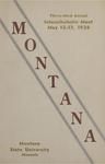Interscholastic Meet Program, 1936 by Montana State University (Missoula, Mont.). Interscholastic Committee