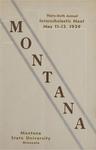 Interscholastic Meet Program, 1939 by Montana State University (Missoula, Mont.). Interscholastic Committee