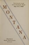 Interscholastic Meet Program, 1940 by Montana State University (Missoula, Mont.). Interscholastic Committee