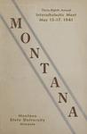 Interscholastic Meet Program, 1941