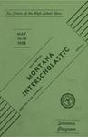 Interscholastic Meet Program, 1953 by Montana State University (Missoula, Mont.). Interscholastic Committee