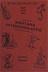 Interscholastic Meet Program, 1954 by Montana State University (Missoula, Mont.). Interscholastic Committee