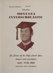 Interscholastic Meet Program, 1957 by Montana State University (Missoula, Mont.). Interscholastic Committee