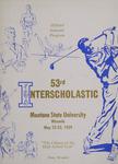 Interscholastic Meet Program, 1959