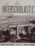 Interscholastic Meet Program, 1961 by Montana State University (Missoula, Mont.). Interscholastic Committee