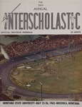 Interscholastic Meet Program, 1962