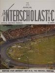Interscholastic Meet Program, 1963 by Montana State University (Missoula, Mont.). Interscholastic Committee