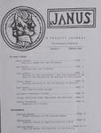 Janus, Spring 1995 by University of Montana--Missoula. Faculty