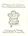 2nd Annual Kyi-Yo Indian Youth Conference on Education, 1970