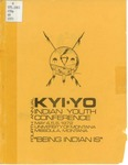 Fourth Annual Kyi-Yo Indian Youth Conference, 1972