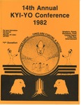 14th Annual Kyi-Yo Conference, 1982 by Kyiyo Native American Student Association