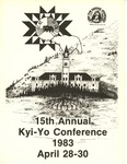 15th Annual Kyi-Yo Conference 1983 by Kyiyo Native American Student Association