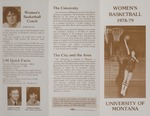Lady Griz Basketball Media Guide, 1978-1979