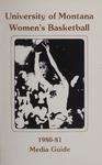 Lady Griz Basketball Media Guide, 1980-1981