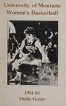 Lady Griz Basketball Media Guide, 1981-1982