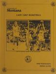 Lady Griz Basketball Postseason Media Guide, 1990 by University of Montana (Missoula, Mont. : 1965-1994). Athletics Department