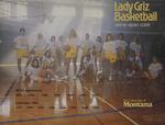 Lady Griz Basketball Media Guide, 1991-1992