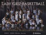 Lady Griz Basketball Media Guide, 2004-2005 by University of Montana--Missoula. Athletics Department