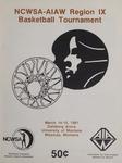 Lady Griz Basketball Program, March 14-15, 1981