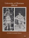 Lady Griz Basketball Program, 1981-1982 by University of Montana (Missoula, Mont. : 1965-1994). Athletics Department