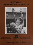 Lady Griz Basketball Program, January 5-6, 1984 by University of Montana (Missoula, Mont. : 1965-1994). Athletics Department