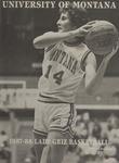 Lady Griz Basketball Program, 1987-1988 by University of Montana (Missoula, Mont. : 1965-1994). Athletics Department