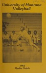 Lady Griz Volleyball Media Guide, 1982