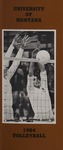 Lady Griz Volleyball Media Guide, 1984 by University of Montana (Missoula, Mont. : 1965-1994). Athletics Department