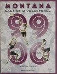 Lady Griz Volleyball Media Guide, 1999 by University of Montana—Missoula. Athletics Department