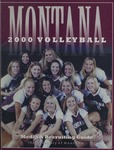 Lady Griz Volleyball Media Guide, 2000 by University of Montana—Missoula. Athletics Department