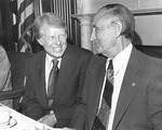 Mike Mansfield and Jimmy Carter by Creator Unknown
