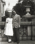 Mike and Anne Mansfield in Washington, D.C. by Creator Unknown
