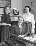 Mike, Maureen, and Anne Mansfield by Creator Unknown