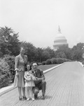Maureen, Anne, and Mike Mansfield in Washington, D.C. by Creator Unknown