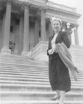 Maureen Mansfield in Washington, D.C. by Creator Unknown