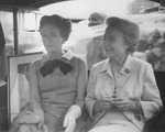 Maureen Mansfield and the Duchess of Windsor in Atlantic City, New Jersey by Creator Unknown