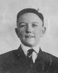Mike Mansfield as a child in Great Falls, Montana by Creator Unknown