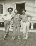 Mike Mansfield and others in uniform by Creator Unknown