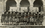 Mike Mansfield on the football team in Butte, Montana by Creator Unknown