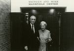 Mike and Maureen Mansfield at the Mansfield Center in Missoula, Montana by Creator Unknown